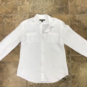 Tommy Bahama Linen Button Up Blouse